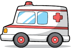 treatment will start in the ambulance with aspirin and other medicines